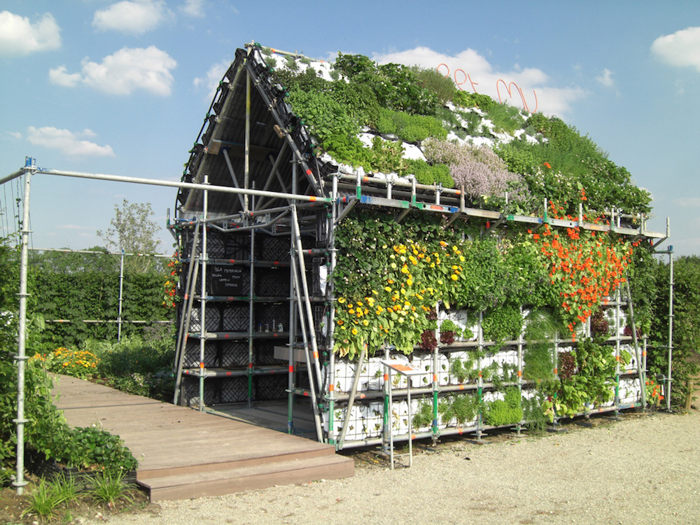 Vertical Garden house, edible house