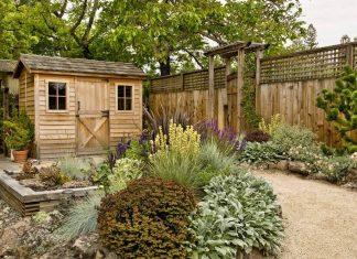 garden shed, wood garden shed