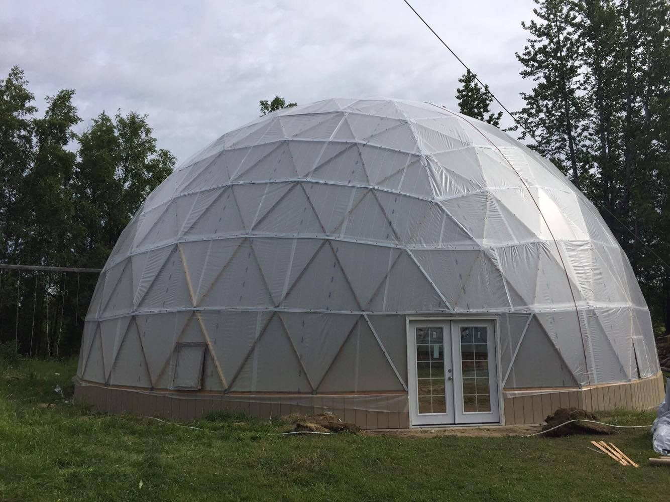 benefits of geodesic dome greenhouse kits