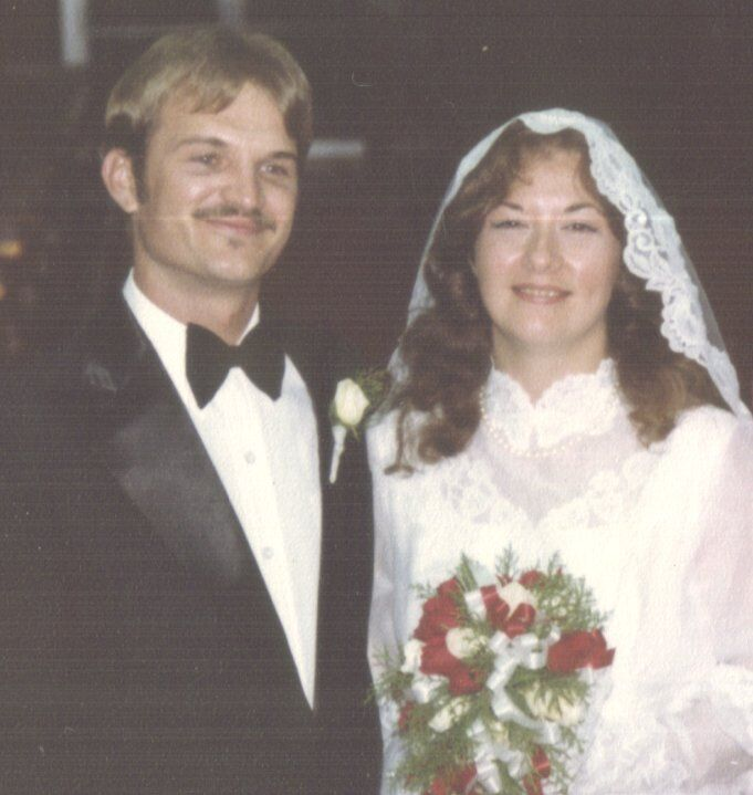 Kathie Chambers first marriage of 28 years.