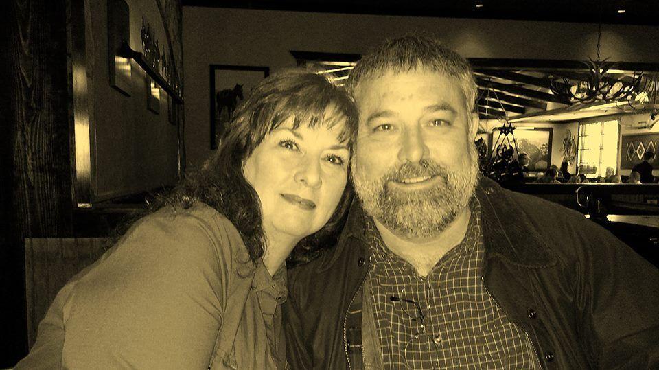 Kathie Chambers Underwood and Joe Folsom