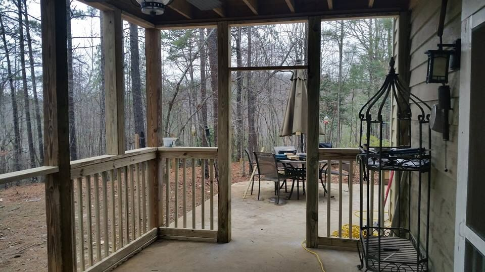"""We committed to one major and one minor project a year."" Kathie and Joe's screen porch project"