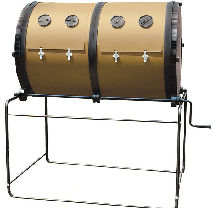 Best compost tumber Mantis twin compartment
