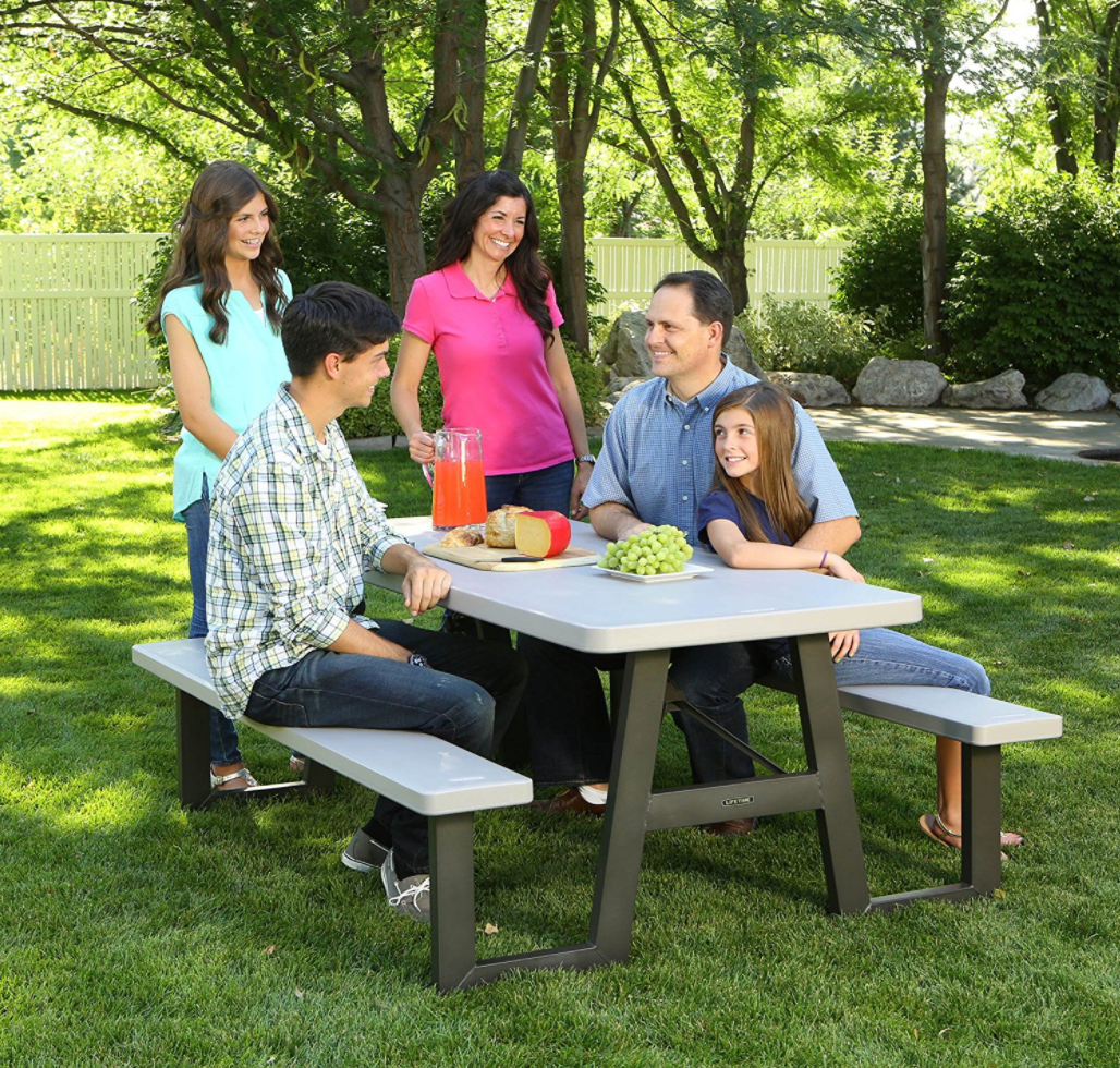#3 Ranked Best Seller Of All Picnic Tables On Amazon Is Also By Lifetime  Brands.