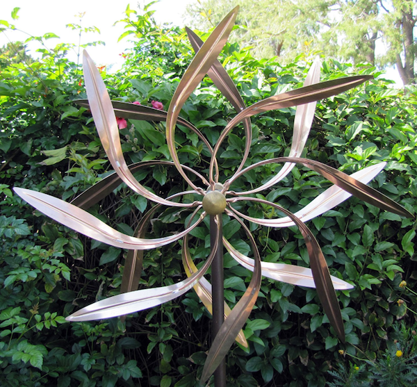 wind spinner, garden sculpture, art