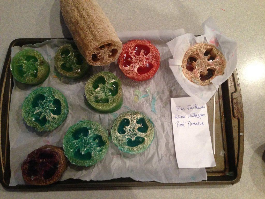 How To Make Natural Luffa Soap Bars Gardensall