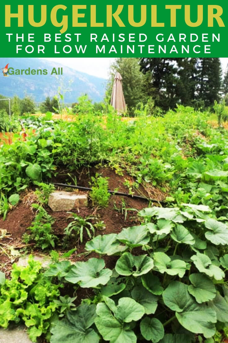 Pronounced something like: Hoogle-culture, this centuries old method of raised garden beds, has migrated to the west and been eagerly adopted by permaculture fans and those with problem soil and terrain. #Hugelkultur #RaisedGardenBed #FallGarden #RaisedBed #Gardening #GardenIdeas