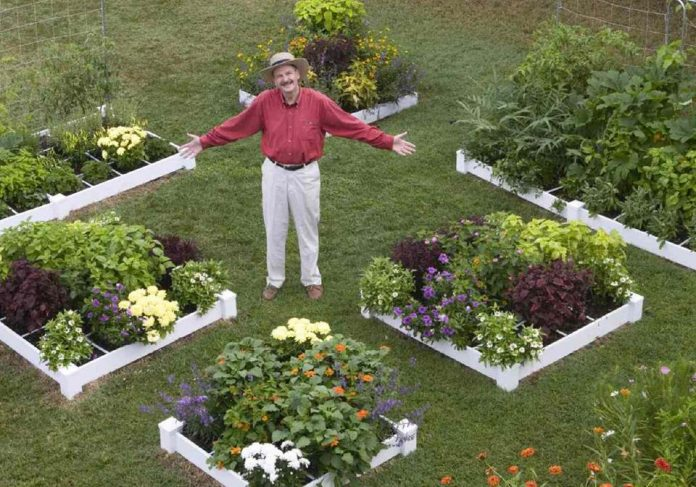Mel Bartholomew 1931 U2013 2016. The Founding Father Of Square Foot Gardening  ...