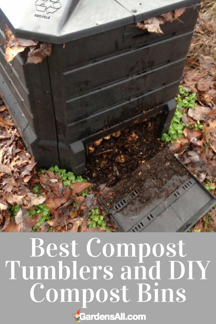 Even when our gardens have gone into animated suspension for the winter, there's still a lot we can do to get ready for the upcoming growing season. While the snows come and go along with the freeze and thaw cycles, one way to keep our garden momentum going is to continue making the compost that will kick start our veggies come planting and seeding time. #DIY #Tumbler #Worm #Garden #Backyard #howtomake