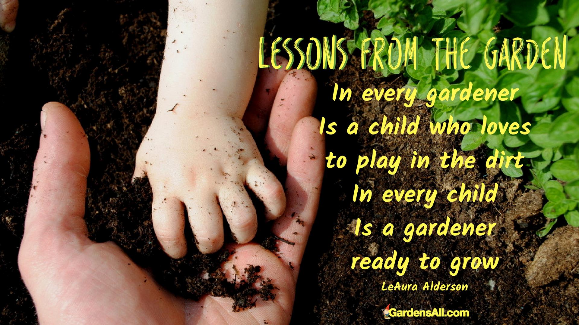 Children In The Garden Growing Memories That Last Gardensall