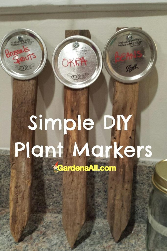 Plant Markers, Garden Markers, DIY Plant Labels, GardensAll.com