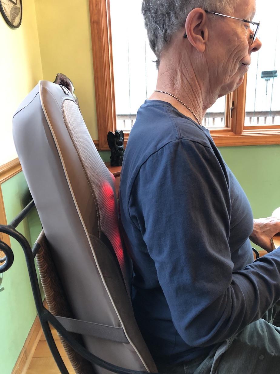 hoMedics back massager