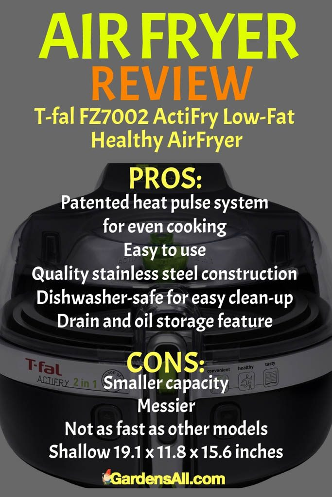 Like other air fryers, this appliance from T-fal is designed to offer consumers a healthier alternative to traditional frying. Instead of a cupful of oil, you may need none or only need a tablespoon of oil for most recipes.#AirFryer #AirFryerRecipes #AirCooker #OilLessFryer #MustHave #Appliances #Kitchen #Recipes