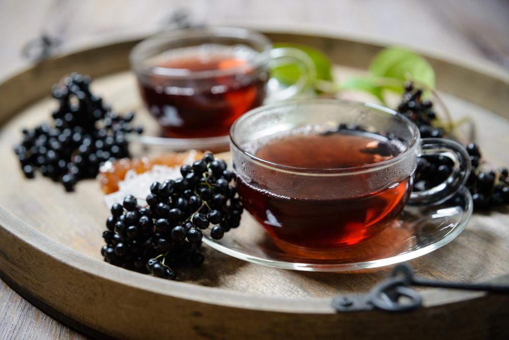 Elderberry herbal remedy