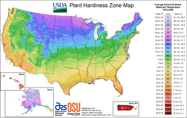 USDA Interactive Map
