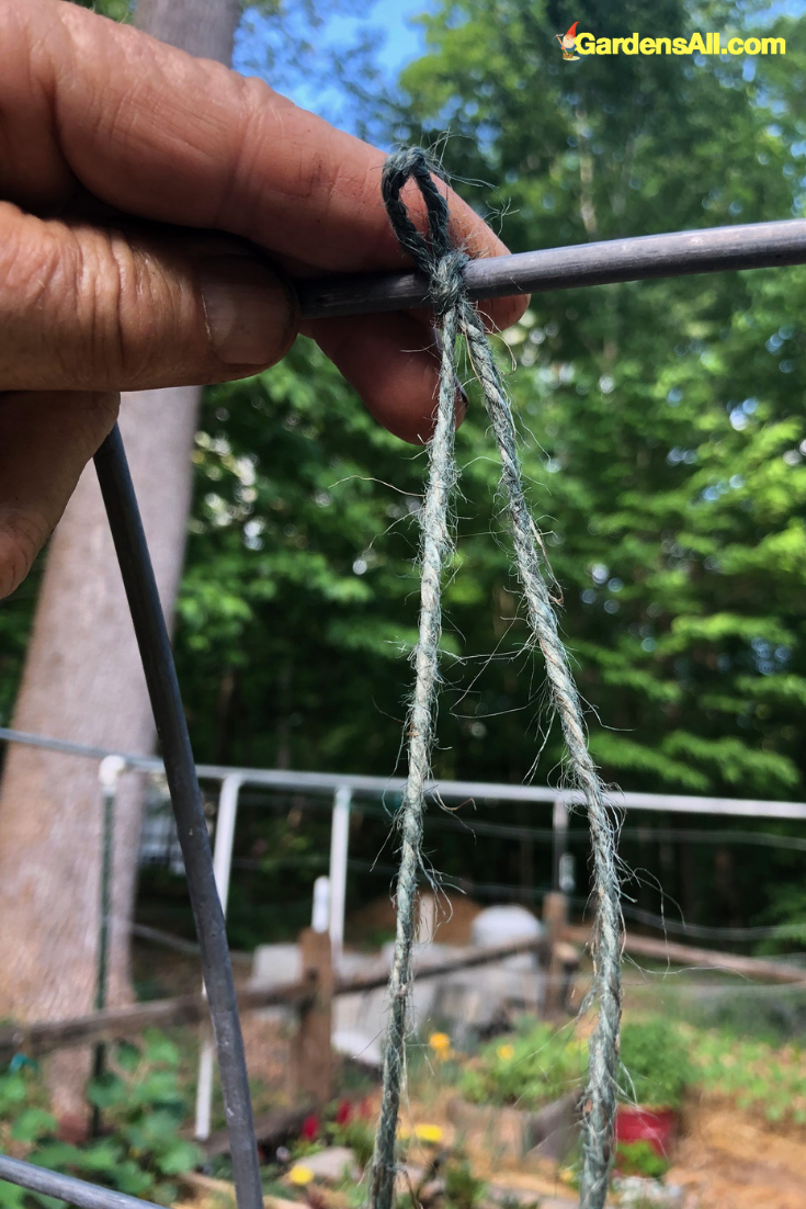 Jute Twine - Such a simple product with a multitude of uses, and it's biodegradable. #flower #flowergarden #Porches #Landscapes #CountryLiving #CurbAppeal #roses #Perennials #Shade #Ideas #Planters #Small #Entrance #Walkways #ColorCombos #DIY #Spring #Balconies #OrnamentalGrasses #Backyards #Outdoors #Shrubs #Tips #Spaces #Hydrangeas