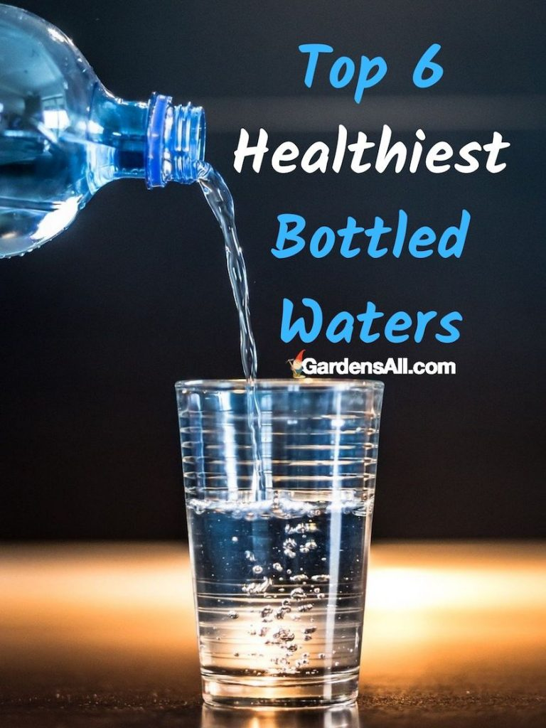 TOP 6 HEALTHIEST BOTTLED WATER: Water Storage Containers for Emergency Preparedness - GardensAll.com #BestBottledWater #WaterStorageContainers #IndoorWaterStorage #EmergencyPreparedness #GardensAll.com