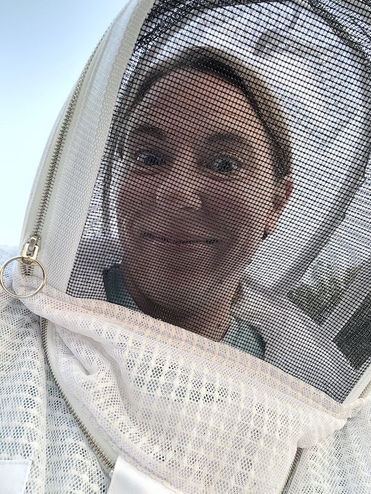 Shannon Schofield-beekeeper-Pollinator Flowers for Bees