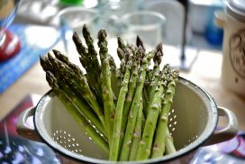 Growing asparagus - how to grow asparagus - stages of growing asparagus